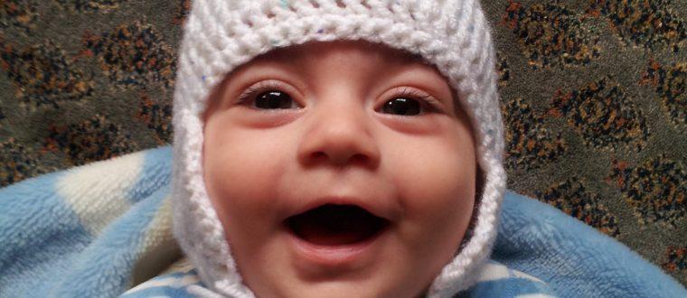 כובע סרוג לתינוק ב13 שורות | סריגה למתחילים