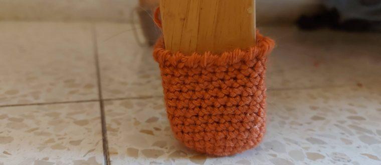 גרביים לכיסא | סריגה למתקדמים