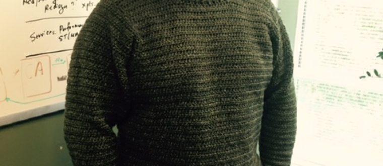 Big Green sweater